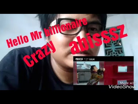 Hello Mr Billionaire 2018  trailer Indonesian reaction