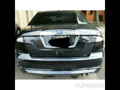 480 269 1834 Ford Fusion Tail Lights Blacked Out Tinted Az