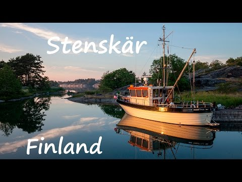 Baltic sailing #8 - Stenskär - fishing village in Finland