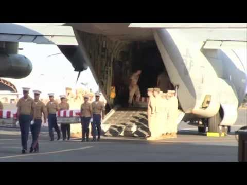 Marines Return Home After 70 Years on Tarawa