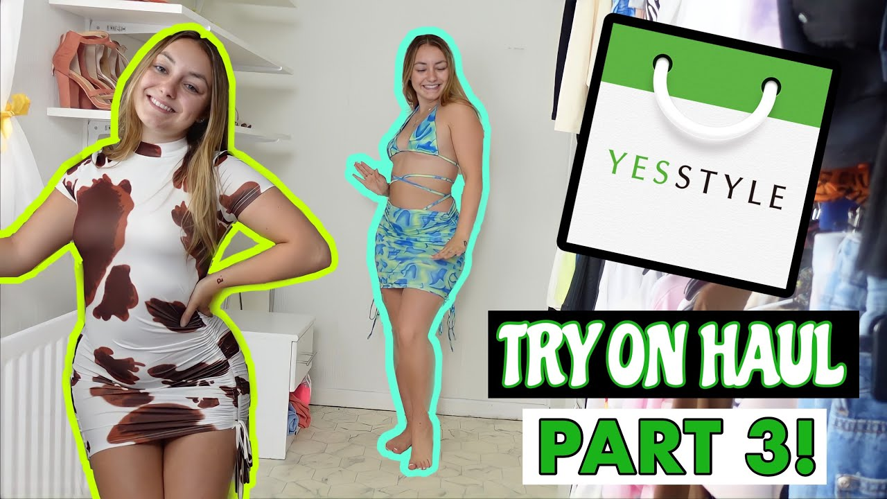 YESSTYLE TRY ON HAUL!! PART 3