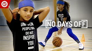 9-Year-Old Wants To Be The FIRST Female NBA Player Video