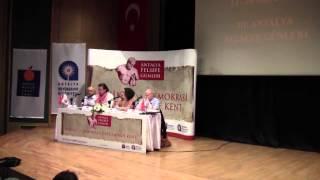 """Güçlü Ateşoğlu III. Antalya Felsefe Günleri """"Kalabalığın Haklılığı, Haklının Kalabalıklaşması"""""""