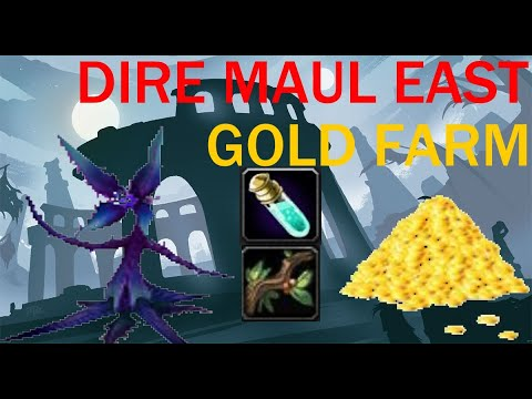 Маг фарм легкой голды 60g/h++ Mage gold farm DM East