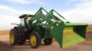 Gambar cover 2012 John Deere 7200R Tractor/H480 Self Leveling Loader, 1719 hrs