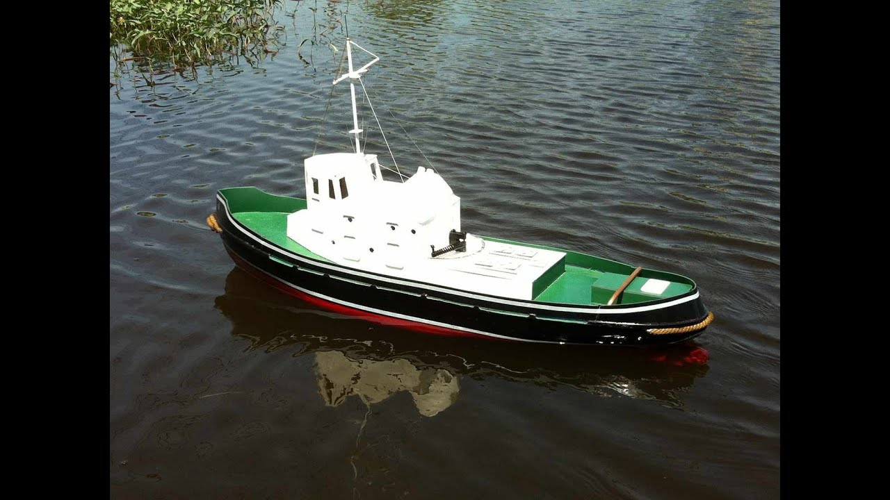 RC Tug Boat Plans - 1/20th Scale Plank on Frame Build - YouTube