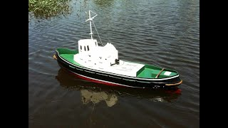 Rc Tug Boat Plans - 1/20th Scale Plank On Frame Build