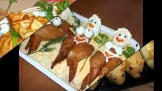 Смотреть Простые Канапе Рецепты С Фото. Бутерброды Канапе. Простые Канапе На День Рождения.