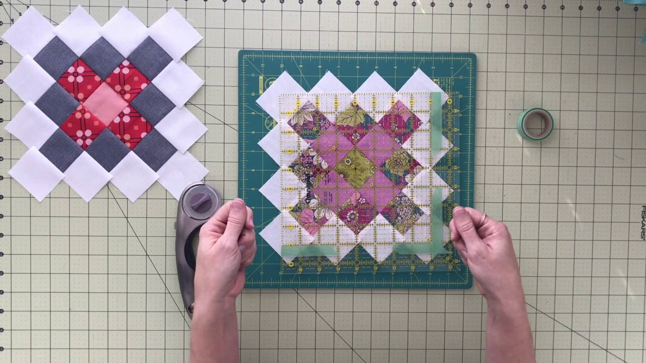 Farmhouse Porch Squaring Up Granny Square Quilt Block Tutorial - Youtube