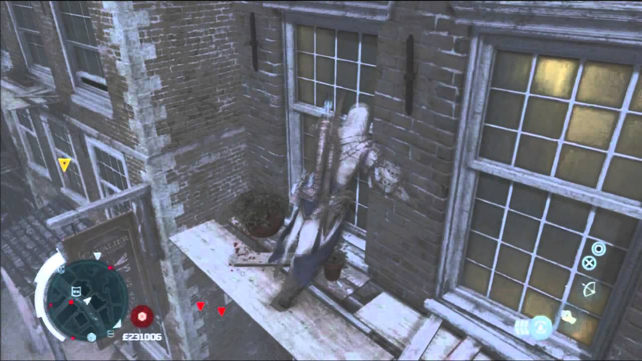 Assassin S Creed 3 New York Free Roam Gameplay Part 1 Youtube