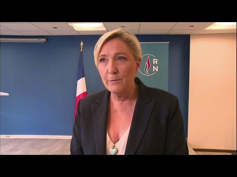 الانتخابات البلدية الفرنسية 2020: من كلمة مارين لوبان بعد فوز مرشح اليمين المتطرف ببلدية بيربينيون  - 12:59-2020 / 6 / 29