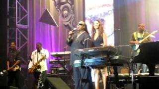 Stevie wonder and his daugher Aisha Morris - Isnt she lovely