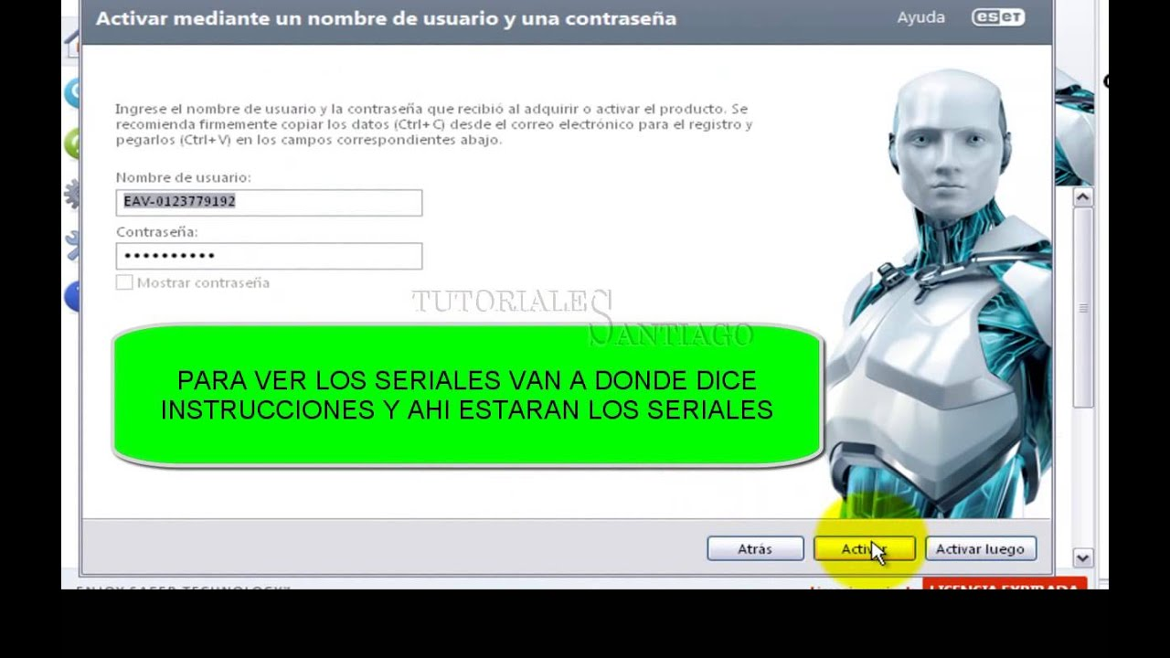 Como Tener Eset Smart Security V 8 Con Serial Hasta 2019