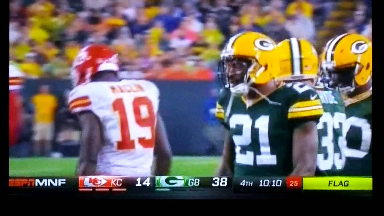 Ha Ha Clinton Dix greets Jeremy Maclin 2015