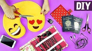 6 DIYs ÚTEIS PARA SUA VIAGEM 💼✈ 😍 Ft. Nina Braz | Almofada de Viagem + Organizadores