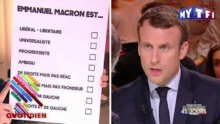 Qui vraiment est Macron (selon lui-même) ? - Quotidien du 13 Mars