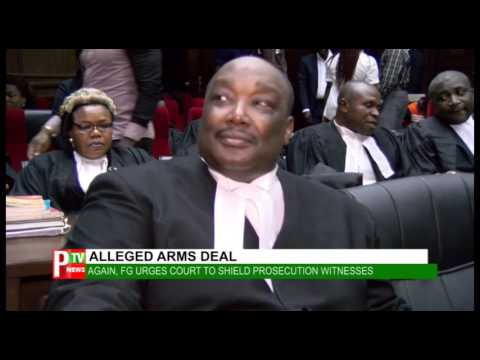 ALLEGED ARMS DEAL:Again ,FG urges court to shield prosecution witness