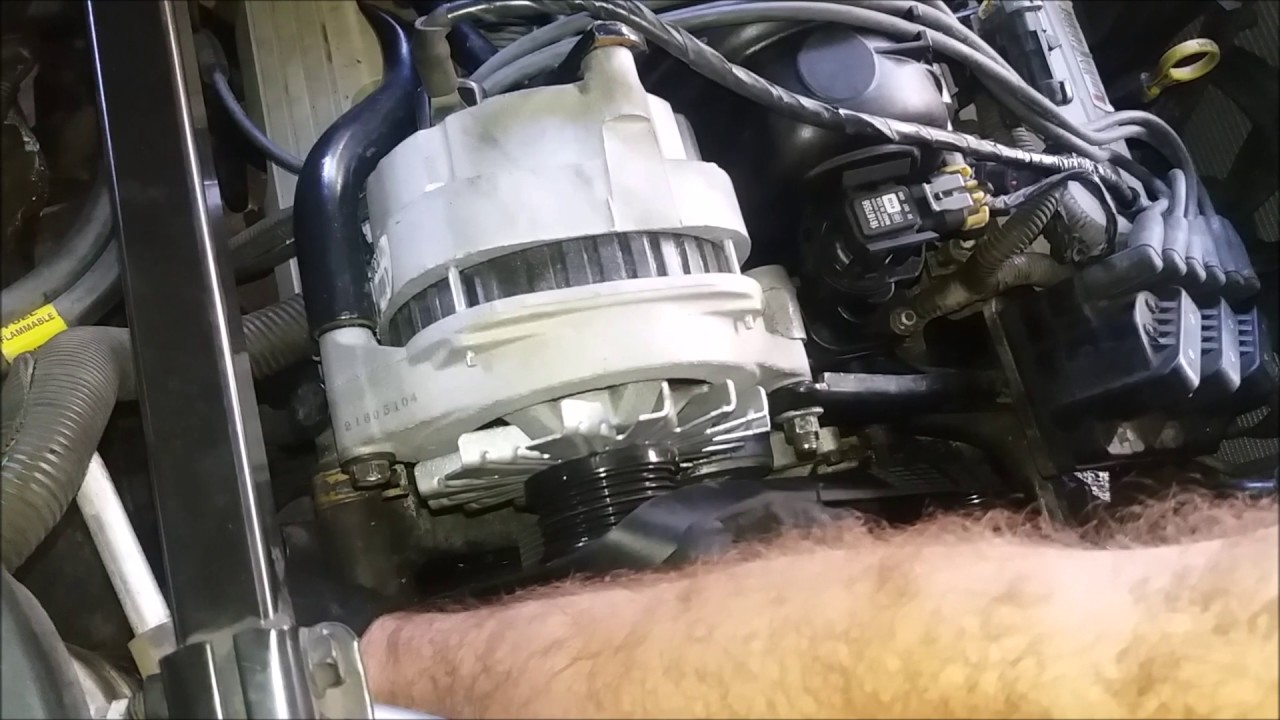 how to replace serpentine belt in a 1997 buick lesabre diy save  [ 1280 x 720 Pixel ]
