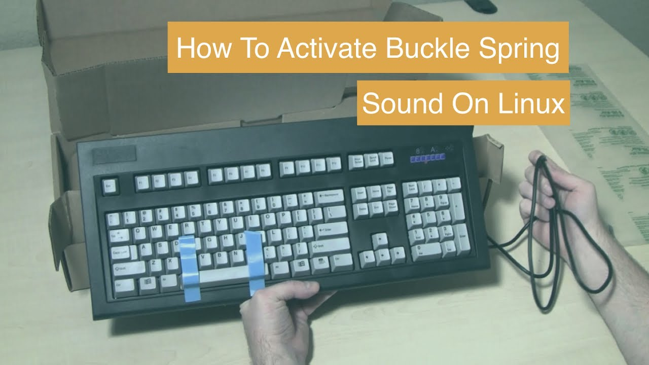 Make Your Keyboard Sound Like The Old Buckle Spring