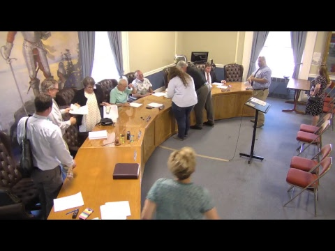 City of Plattsburgh, NY Meeting  6-21-18