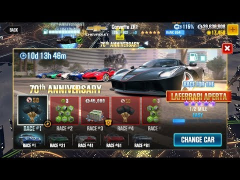 CSR Racing 2 | Ferrari 70th Anniversary Finale (Race 82-99) - Let's get that Aperta!