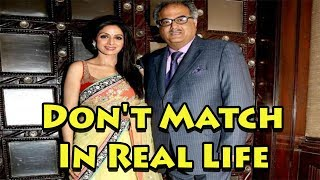 Bollywood Couples Who Don't Match Each Other In Real Life