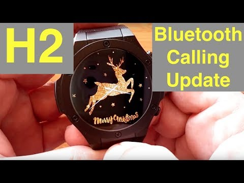 Microwear H2: Update regarding Bluetooth Calling from Android Watches