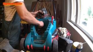 видео Газонокосилка электрическая BOSCH Rotak 32  0.600.885.B00