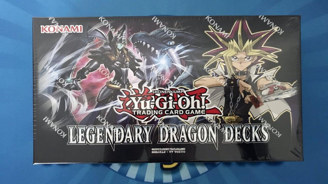 Legendary Dragon Decks Box Opening/Unboxing Yugioh Karten - YouTube