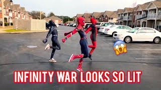 ''Ghetto Avengers'' - Dj Casper Cha Cha Slide | @ghetto.panther @ghetto.deadpool | AVENGERS: ENDSPIEL