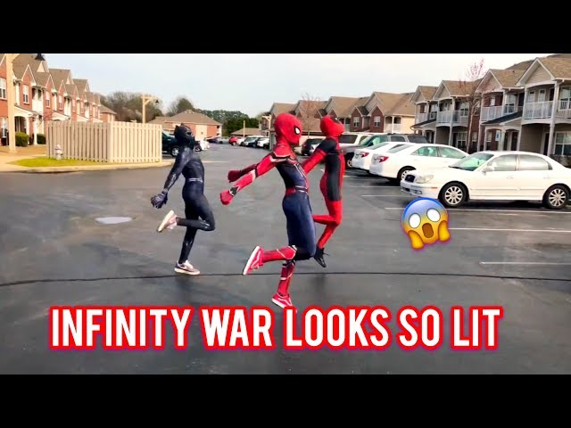 Ghetto Avengers Dj Casper  Cha Cha Slide | @ghetto.panther @ghetto.deadpool | AVENGERS: ENDGAME