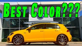 New 2019 Golf R Spektrum Edition ~ What Color Did I Get? thumbnail