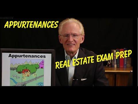 02 Appurtenances  & Bundle of Rights - Real Estate Exam Prep