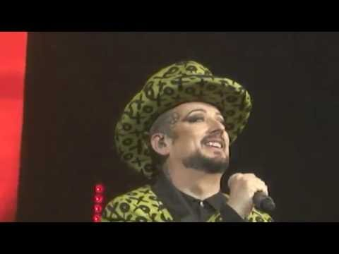 Culture Club Performs KARMA CHAMELEON (live), In Las Vegas (21 August 2016)