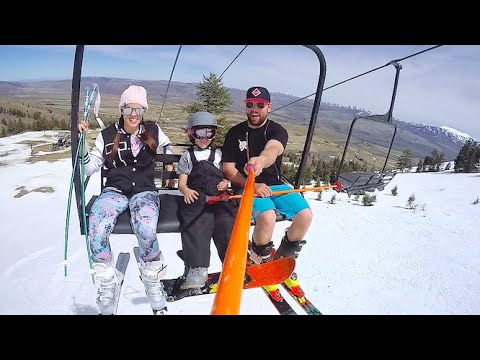 WE RENTED A SKI MOUNTAIN!