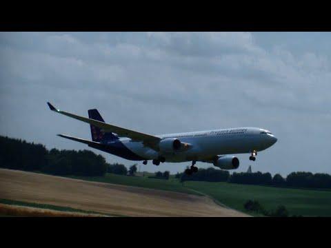 R/C Brüssel Airline A330-300 Go around landing Abort 3.Airlinermeeting 2015 Germany