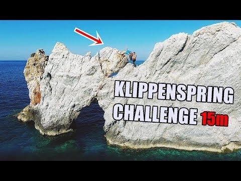 Das Finale   15 Meter Klippenspringen   Auerbach Challenge   Ksfreak vs Krappi