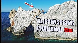 Das Finale | 15 Meter Klippenspringen | Auerbach Challenge | Ksfreak vs Krappi