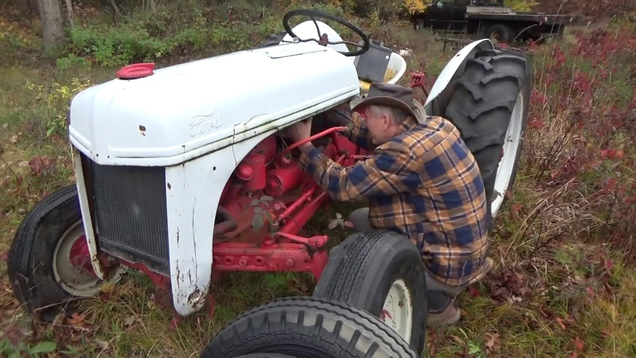 Got A Ford 8N Tractor For The Off Grid Homestead