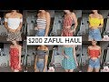 HUGE $200 ZAFUL TRY ON HAUL | Affordable Clothing