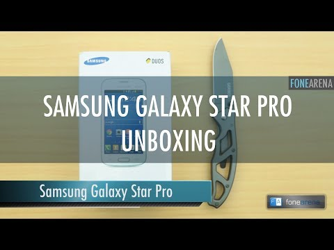 Samsung Galaxy Star Pro s7262 Unboxing
