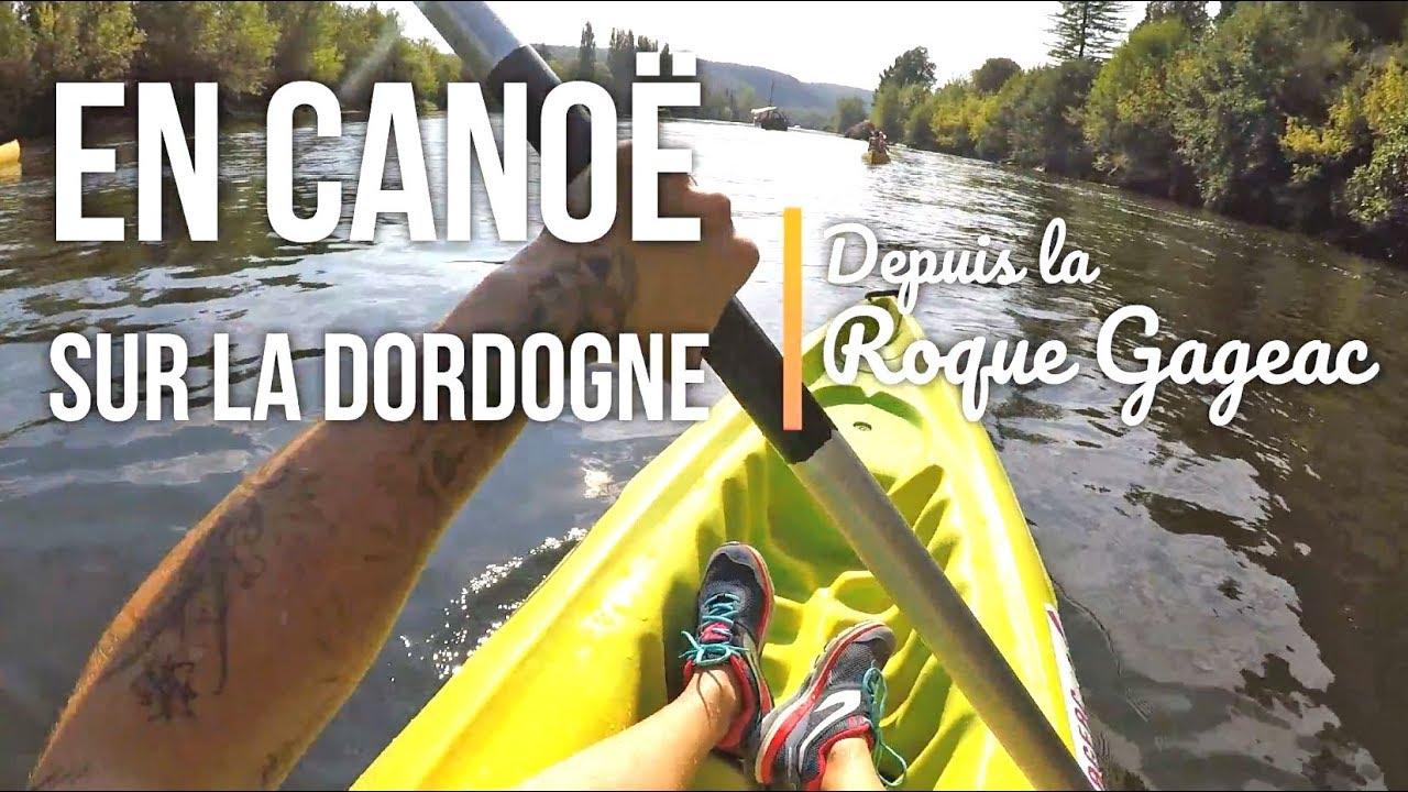 Canoë sur le Dordogne depuis la Roque Gageac