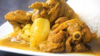 JAMAICAN CURRY CHICKEN   Cooking Tutorial • Malaika Malz