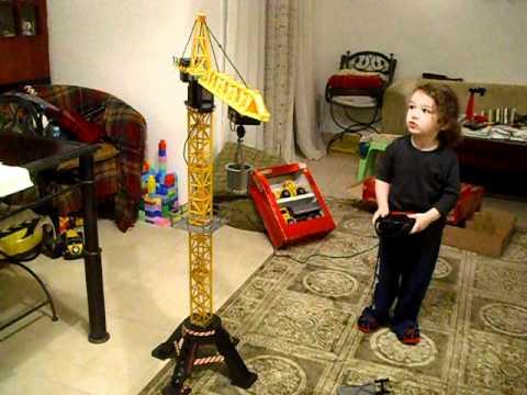 Construction Crane Toys