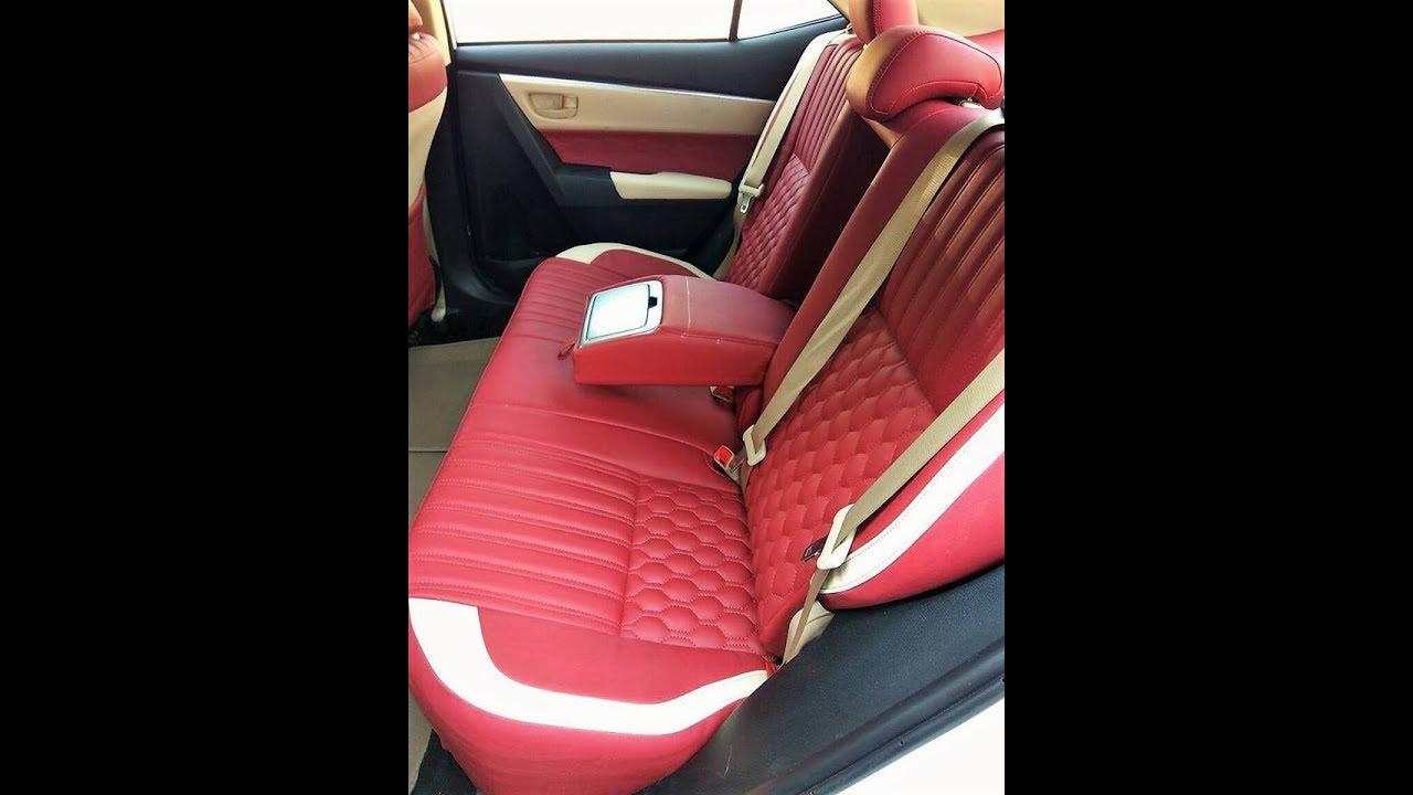Toyota Corolla Altis Seat Cover Car Seat Cover Designs India Youtube