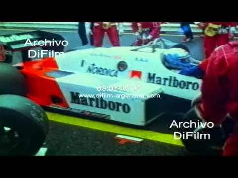 DiFilm - Alain Prost won the Grand Prix of Belgium 1983
