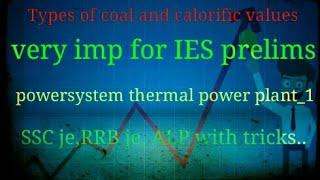EEE technical tricks_powersystems_thermal power plant_types of coals and calorific values