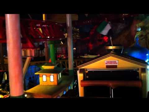 Adventure Train Roller Coaster Onride POV Adventureland Sharjah United Arab Emirates