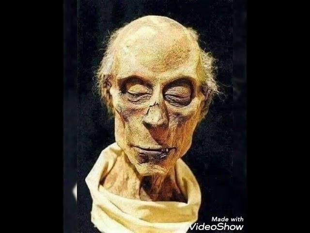 إعادة تشكيل وجه الطاغية فرعون بالمسح الضوئي Youtube