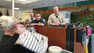 You will be arrested and your camera will be seized kern county courthouse  TCCW